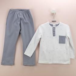Pijama niño bolsillo lateral ositos-BDI-71178-Babidú