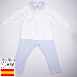 Pijama niña huellas-BDI-72116-Babidú