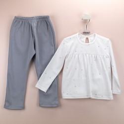 Pijama niña canesú ositos-BDI-72178-Babidú