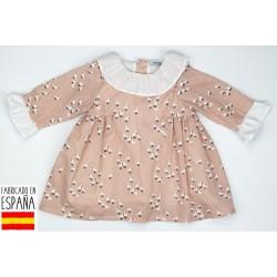 Vestido c/volante pienza-BDI-90253-Babidú