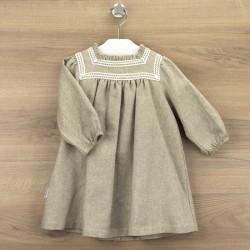 Vestido con bordado galicia-BDI-91304-Babidú