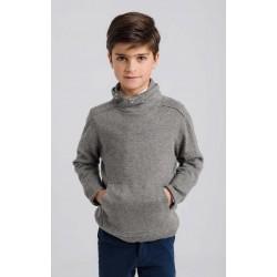 Jersey cuello smoke gris-LOI-1045062901-La Ormiga