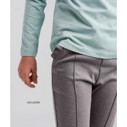 Malla de vestir volante gris-LOI-1041262901-La Ormiga