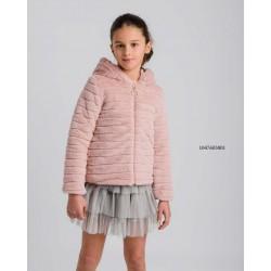 Chaqueta de pelo rosa-LOI-1047603001-La Ormiga