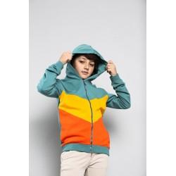 Comprar ropa de niño online Sudadera niño multicolor, capucha y