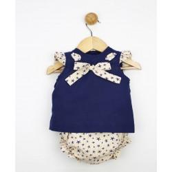 Comprar ropa de niño online Conjunto bebé camiseta desmangada y