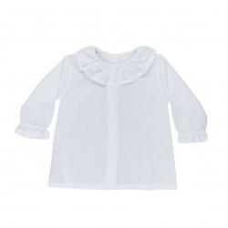 Comprar ropa de niño online Camisa bebé plumeti estampado