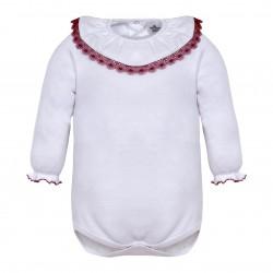 Comprar ropa de niño online Body cuello volante detalle