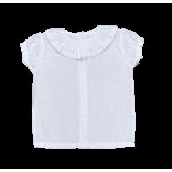Comprar ropa de niño online Camisa bebé manga corta plumeti