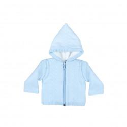 Comprar ropa de niño online Chaqueta doble bebé con polar y