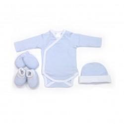 Comprar ropa de niño online Caja regalo bebé 4 piezas algodón