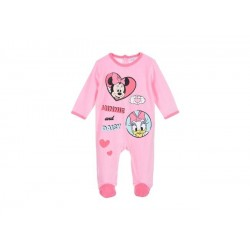 Pijama tipo pelele largo -MINNIE