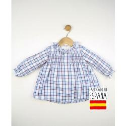 Vestido maga larga bebé puño elástico-TBI-23600-Tony Bambino