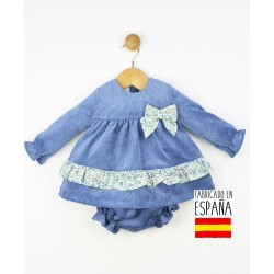 Conjunto 2 piezas bebé: túnica y cubrepañal-TBI-23611-Tony Bambino