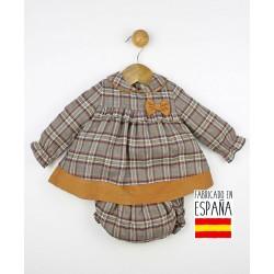 Conjunto 2 piezas bebé: túnica y cubrepañal-TBI-23658-Tony Bambino
