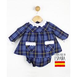 Conjunto 2 piezas bebé: túnica y cubrepañal-TBI-23690-Tony Bambino