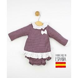 Conjunto 2 piezas bebé: túnica y cubrepañal-TBI-23712-Tony Bambino