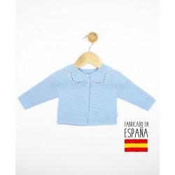 Chaqueta bebé cierre botones-TBI-23720-Tony Bambino
