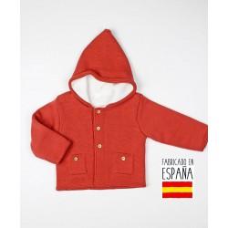 Chaqueta bebé con capucha-TBI-23737-Tony Bambino