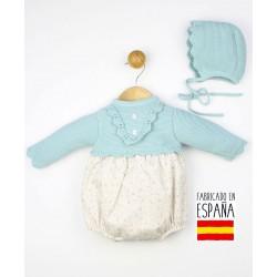 Conjunto bebé 2 piezas: jesusito+gorro-TBI-23759-Tony Bambino