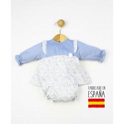 Conjunto bebé 2 piezas: túnica+cubrepañal-TBI-23769-Tony Bambino