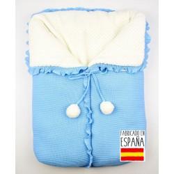 Saco bebé detalle borlas-TBI-24044-Tony Bambino