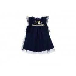 Vestido manga corta-SCI-TH0072-MINNIE
