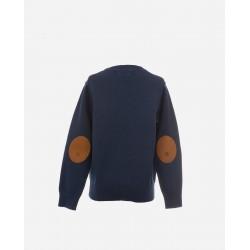 Jersey cuello redondo marino-LOI-1045000601-La Ormiga