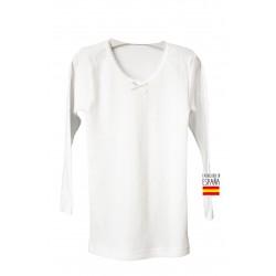 Camiseta interior niña m/larga felpa-CLI-01139-Calamaro