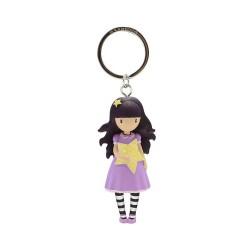 Comprar ropa de niño online Llavero muñeca 3d gorjuss s&b