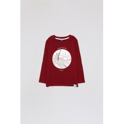 Comprar ropa de niño online Camiseta manga larga niño algodón