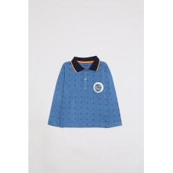 Comprar ropa de niño online Polo manga larga niño Stars Street