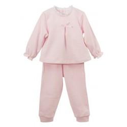 Pijama largo puños elásticos Calamaro
