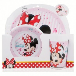 Set micro 3 pcs. minnie mouse - disney - electric doll-STI-18849-Disney