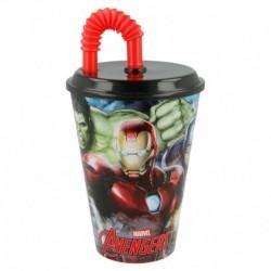 Vaso caña easy 430 ml   spiderman graffiti-STI-37930-Disney