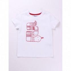 Camiseta algodón manga corta 100% algodón