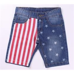 Pantalon corto vaquero 100% algodón
