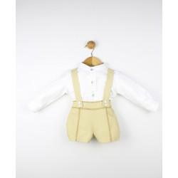Conjunto 2 piezas cuello bebé -23283 Popys
