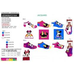 Pack 3 calcetines bajos minnie-SCV-UE0608-MINNIE