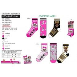 Pack 3 calcetines lol surpri-SCV-UE0634-LOL SURPRISE