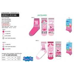 Pack 3 calcetines peppa pig-SCV-UE0621-PEPPA PIG