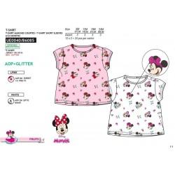 Camiseta manga corta 100% algodón minnie-SCV-UE0040-MINNIE
