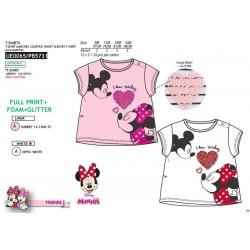 Camiseta manga corta 100% algodón minnie-SCV-UE0065-MINNIE