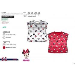 Camiseta manga corta 100% algodón minnie-SCV-UE0075-MINNIE