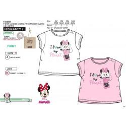 Camiseta manga corta 100% algodón orgánico minnie-SCV-UE0069-MINNIE