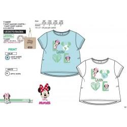 Camiseta manga corta 100% algodón orgánico minnie-SCV-UE0070-MINNIE