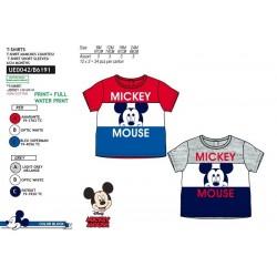 Camiseta manga corta 100% algodón mickey-SCV-UE0042-MICKEY
