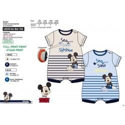 Pelele corto algodón mickey-SCV-UE0036-MICKEY