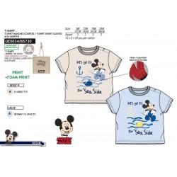 Camiseta manga corta 100% algodón orgánico mickey-SCV-UE0034-MICKEY