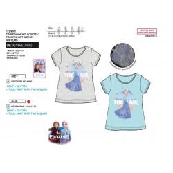 Camiseta manga corta 100% algodón frozen-SCV-UE1010-FROZEN